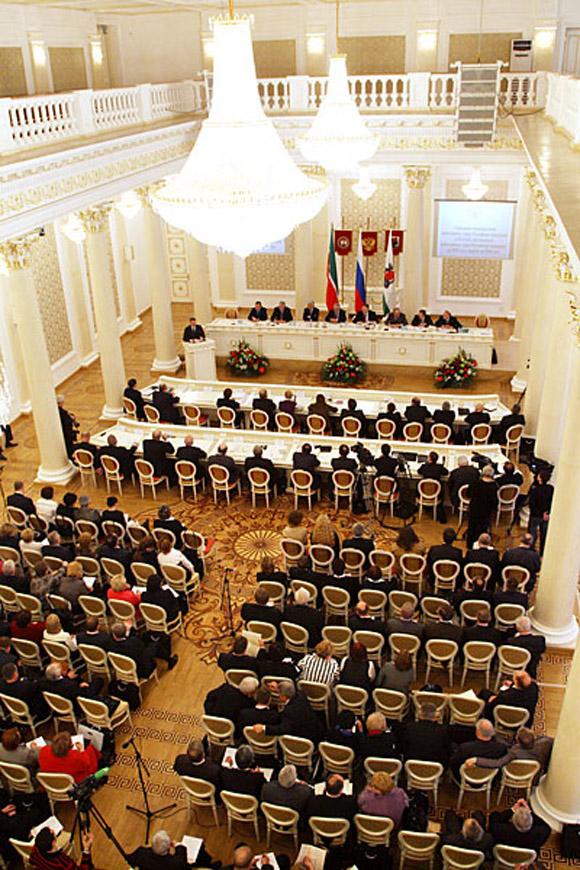 ...были обсуждены итоги деятельности арбитражных судов Российской Федерации за 2008 год и определены их задачи на.